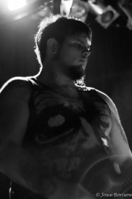 Chris DeLeon, Adema, Photo by JosieB