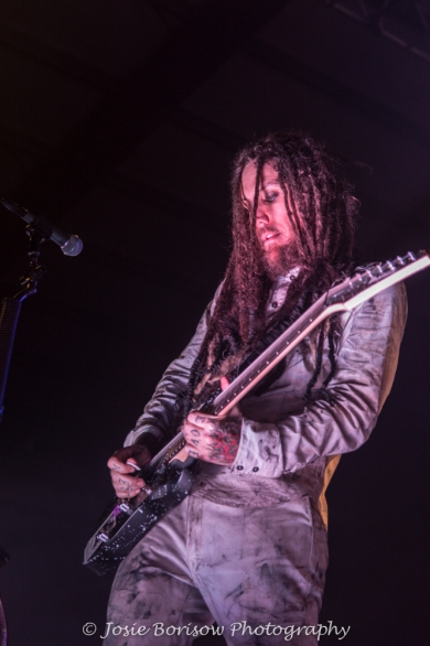 Brian Head Welch, Korn, Photo by Josie Borisow