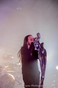 Jonathan Davis, Korn, Photo by Josie Borisow