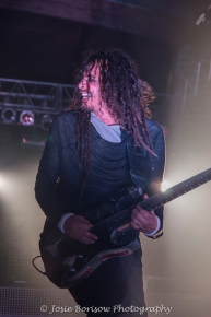 James Munky Shaffer, Korn, Photo by Josie Borisow