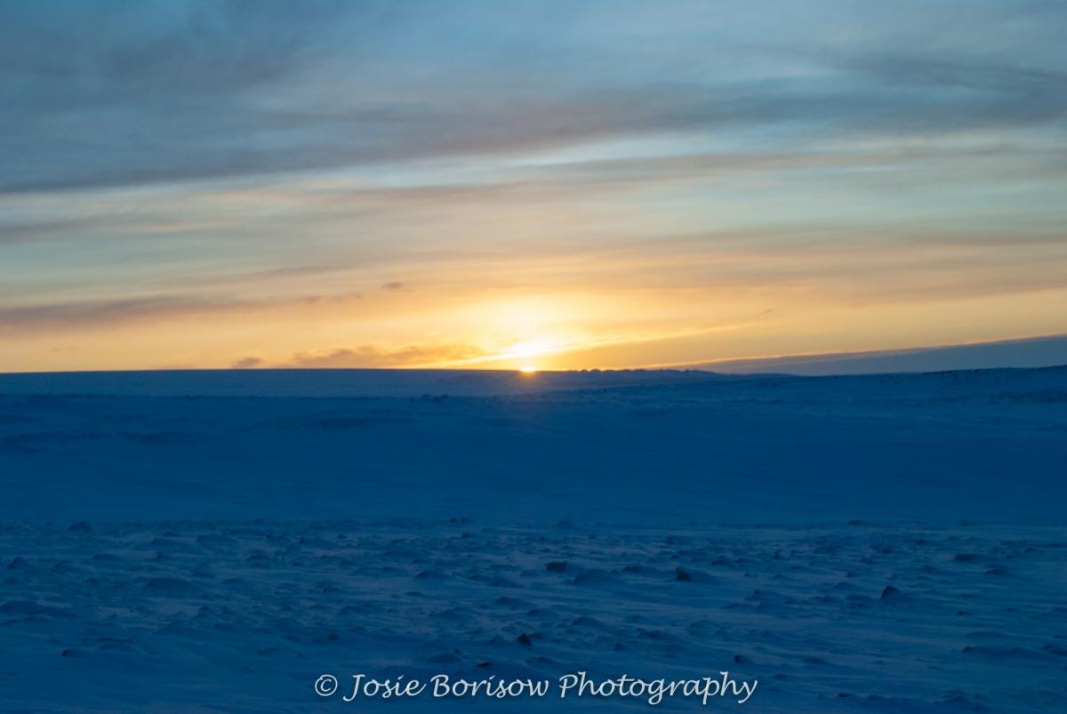 1st Arctic Sunrise of the Year Feb 2011-2