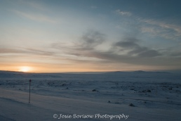 1st Arctic Sunrise of the Year Feb 2011