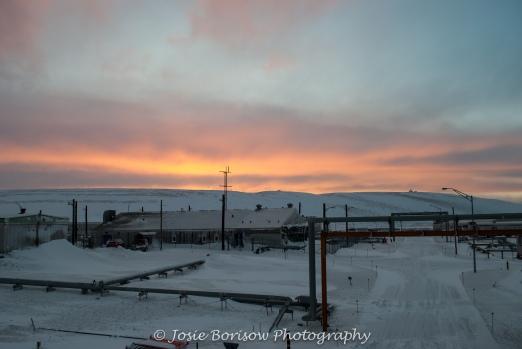 Arctic Storm Sunrise 2010 Photo by Josie B