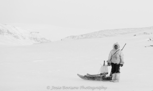 Inuit Hunter Photo by Josie B