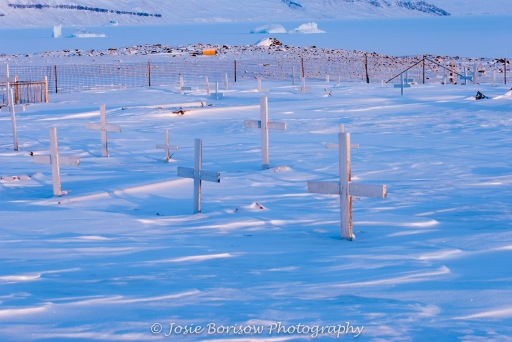 Arctic Graveyard Photo by Josie B