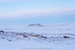 Mt Dundas in the Fog Photo by Josie B