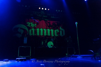 The Damned, Sycuan Live & Up Close, El Cajon (3 Sep 2015)