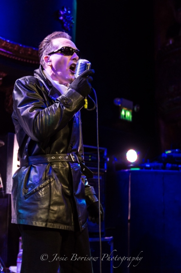 Dave Vanian, The Damned, Great American Music Hall, San Francisco (6 Sep 2015)