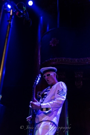 Captain Sensible, The Damned, Great American Music Hall, San Francisco (6 Sep 2015)