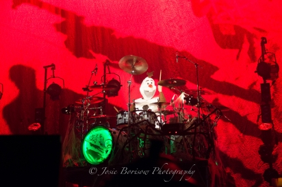 Ray Luzier, Korn, Oakland, 30 Oct 15