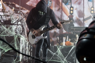 James Munky Shaffer, Korn, Oakland, 30 Oct 15