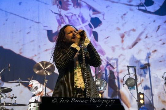 Jonathan Davis, Korn, Oakland, 30 Oct 15