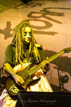 Brian Head Welch, Korn, Oakland, 30 Oct 15