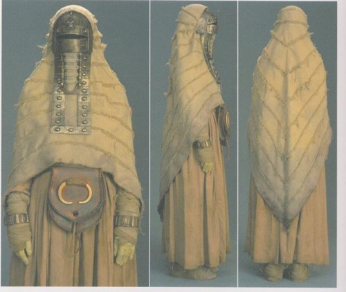 Tusken Raider Female Reference Photo