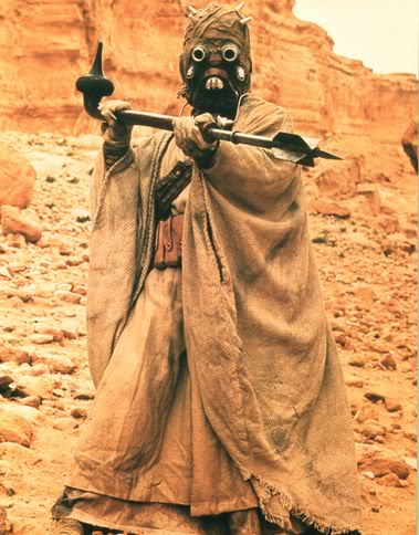 Tusken Raider Reference Photo